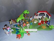 "Playmobil equitation "" La promenade en poneys et les soins """