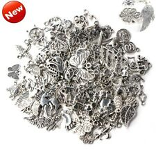 95cf7c325 Wholesale 100pcs Bulk Lots Tibetan Silver Mix Charm Pendants Jewelry DIY LOT