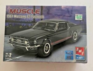 FS 2006 AMT / ERTL  MUSCLE  CARS  1967  MUSTANG  FASTBACK  MODEL  CAR  KIT