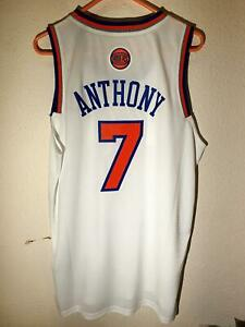 Adidas NBA Swingman New York Knicks Carmelo Anthony Latin Nights Jersey White L