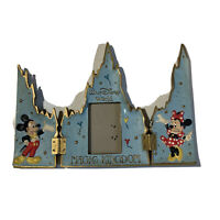 Vintage Walt Disney World Folding Cinderellas Castle Picture Frame Magic Kingdom