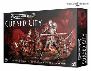 Cursed City SENZA MINIATURE INGLESE