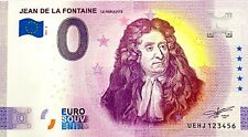 BILLET 0 EURO JEAN DE LA FONTAINE FRANCE  2021 NUMERO DIVERS