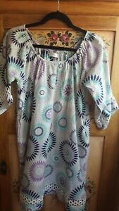 Fabulous HOLIDAY long loose fit top/short dress (size small)