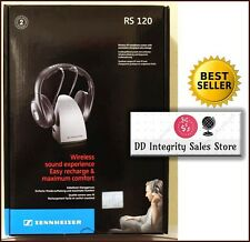 BRAND NEW Sennheiser RS 120 Wireless Headphones w/Charging dock 100%RATED SELLER