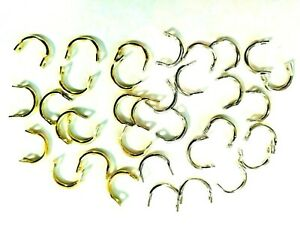 Easy Spinning  Blade Clevis, 3 sizes Nickel or Brass ,for Spinners , Flying C's.