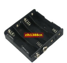 1PC x Battery Holder 4 AA size battery 6V Case With 9V Snap Connector