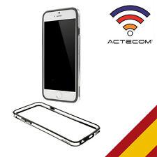 "ACTECOM® FUNDA BUMPER PARA IPHONE 7 / 4,7"" NEGRO-TRANSPARENTE CARCASA"