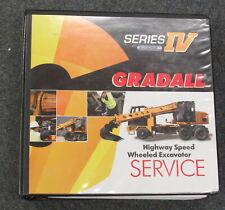 Gradall Series Iv Highway Speed Wheeled Excavator Service Manual Xl31 Xl41 Xl51