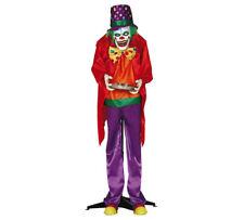 annimierte Halloween Dekoration Horror Clown Licht Musik Sound Bewegung 150cm