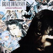 Bruce Dickinson Tattooed Millionaire LP Vinyl 10 Track in Gatefold Sleeve With