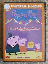 Peppa Pig la mia festa di compleanno e altre storie  DVD cartoni NUOVO SIGILLATO