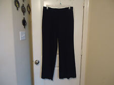 Renuar Sz 12 Black Dress Pants