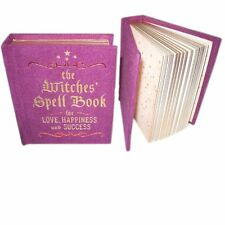 Mini Hardback Witches Spell Book for Love,Happiness & Success Wicca