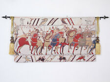 "Bayeux-II Medieval Old World Tapestry Wall Hanging, Cotton 100%, 55""x31"", US"