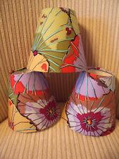 Handmade Candle Clip Lampshade Kaffe Fassett Lotus Leaf Antique fabric