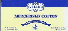 Thread - Box of 12 Skeins - Venus - 2010 (= DMC B5200) - Anchor 1 - Bright White