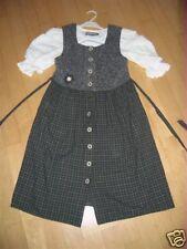 Super Kinder Trachtenkleid mit Shirt Gr. 128/134 Top!