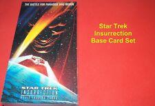 STAR TREK INSURRECTION   Complete Base Card Set  WIDEVISION