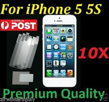 Screen Protector Ultra Clear Front Film Guard High Quality For iPhone 5 5S 15PCS