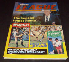 Rugby League Week Newspaper/Magazine Vol 14 No 30  1983