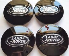 Land Rover, 4 X, Center Cap, HubCap, Black Oval, Chrome Logo, 63MM, # 6