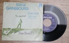 """SERGE GAINSBOURG daisy temple vieille canaille 45t sp7"""" 6042477 hollande philips"""