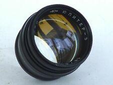 Black!!! Jupiter - 3 1,5/5cm for m39 Leica, FED, Zorki. sonnar copy