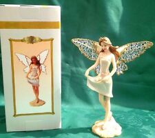 Pearl Fairy Fairies Gathering Pearls Ornament With Glitter Net Wings Gift