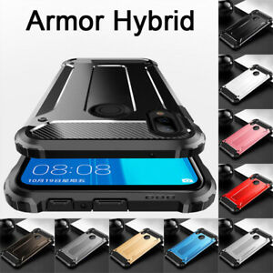 For Huawei Y9 Prime 2019 Y6 Y7 Shockproof Hybrid Armor Hard PC Rugged Case Cover