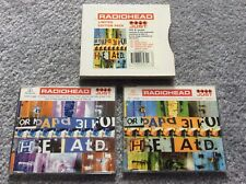 RADIOHEAD - JUST - LIMITED EDITION CD DOUBLE PACK + POSTCARDS bones/planet telex