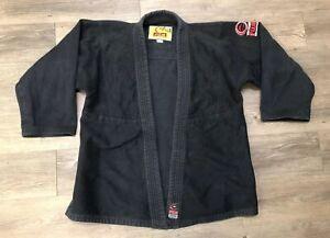 FUJI Kimono Black Ju Jitsu Gi Top Only Youth C3