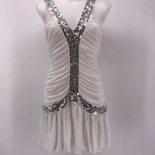 Sass & Bide White Sequin Dress 4