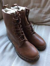 * Nuevo * Dr Martens SERENA botas mujer marrón lana forrada de Reino Unido 9