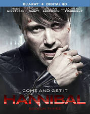 Hannibal - Season 3 [Blu-ray + Digital HD] New, Free Shipping
