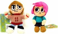 "Scott Pilgrim 4"" Plush Clip On Boy Scott & Girl Ramona Set of 2"