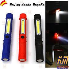 Linterna LED Luz de Trabajo iman magnetica antorcha camping hogar taller COB Env