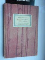 Federico Garcia Lorca: Bluthochzeit (Enrique Beck) Insel-Bücherei Nr. 562 1961