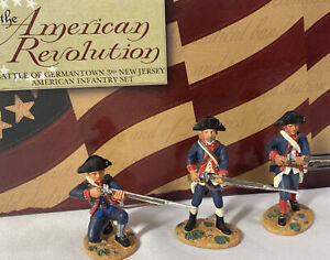 W Britain ~ AMERICAN REVOLUTION ~ Battle of Germantown 3rd New Jersey Inf #17356