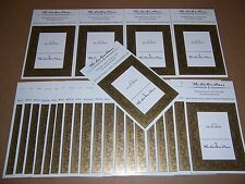 Easton Press bookplates with Golden Design, 24 counts (book plates)
