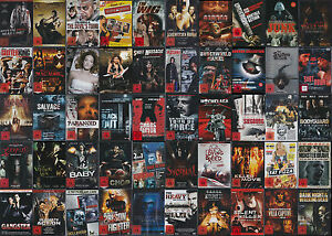 DVD-Paket Sammlung FSK 18 - Action Horror Splatter Thriller - *NEU*