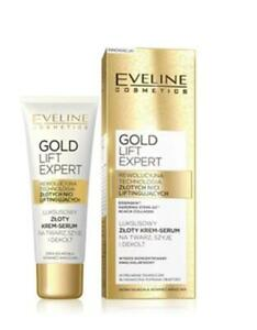 Eveline Gold Lift Expert Cream-serum for the face, neck and cleavage, 40ml