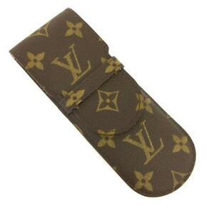 Louis Vuitton Monogram Etui Stylos Pen Case /71381