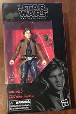 "Star Wars Han Solo Black Series # 18- Star Wars The Force Awakens - 6"" Brand New"