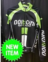 CLEARANCE NEW Doltcini XS Pro Long Sleeved Cycling Jersey Roubaix Lined - UK