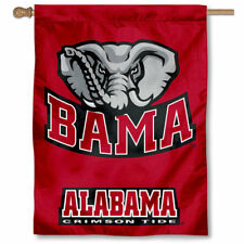 Alabama Crimson Tide Bama University College House Flag