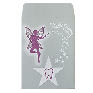 Tooth Fairy Envelopes Peel and Seal   120gsm 92x68mm 100% Recycled Paper