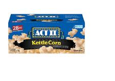 ACT II Kettle Corn Microwave Bags (28 Ct.)