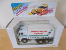 Autocraft Emergency Ambulance Box Truck Road Monster Series - Scale 1:43 - Boxed