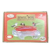 Aspects 5407 Jewel Box Window 8 oz Hummingbird Feeder